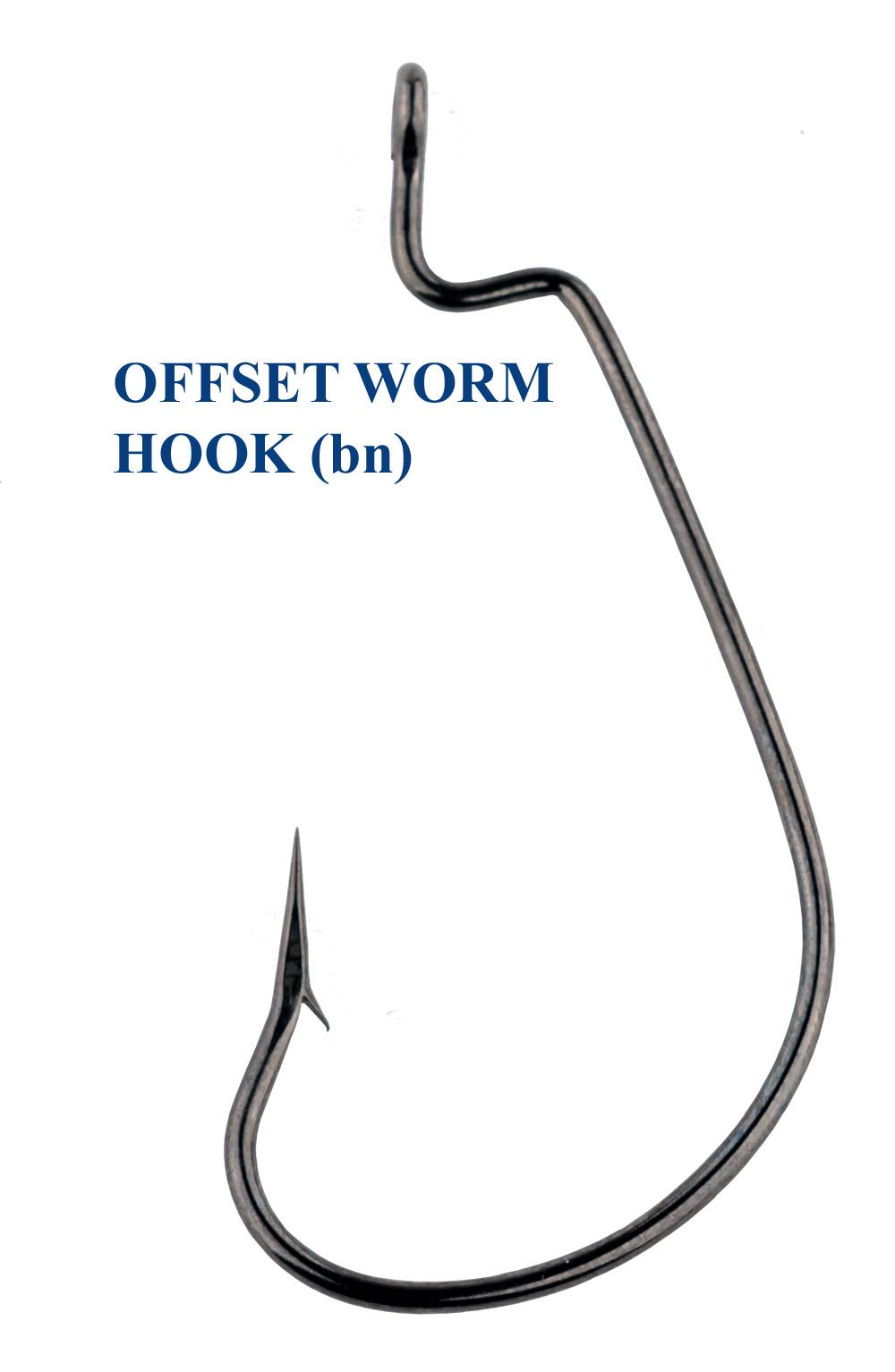 Крючок OFFSET WORM 1 (10 шт)