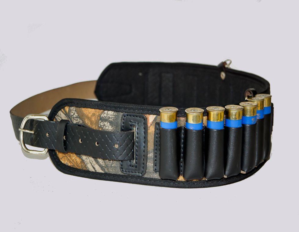 Патронташ открытый на 14 патронов К-12/16 и15 патронов К-7,62, РО-12