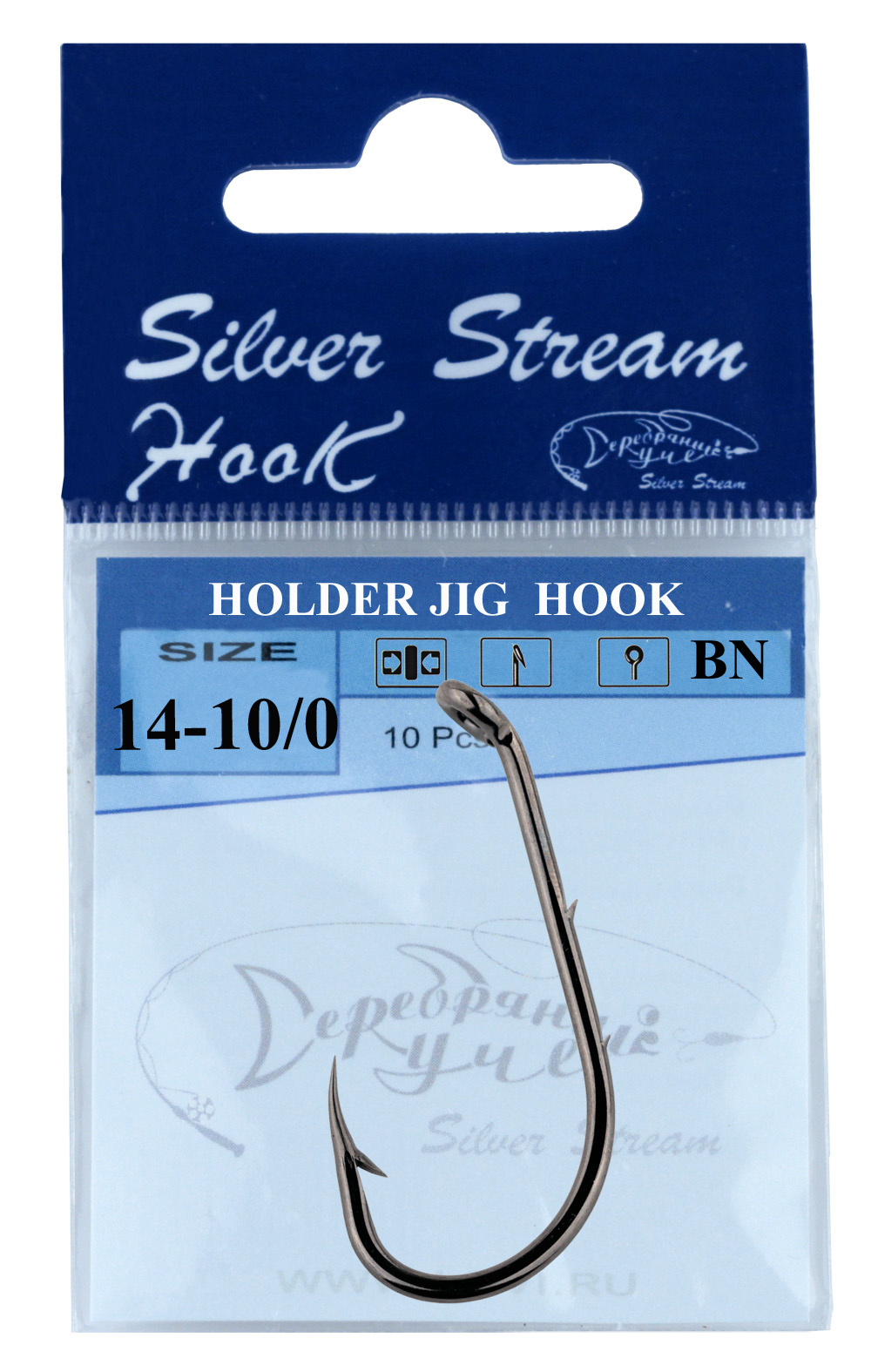 Крючок HOLDER JIG 8 (10 шт)