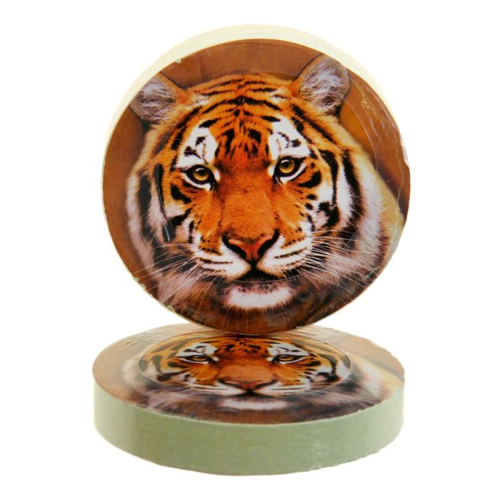 """Полотенце прессованное """"Тигр"""", 28 х 28 см"""