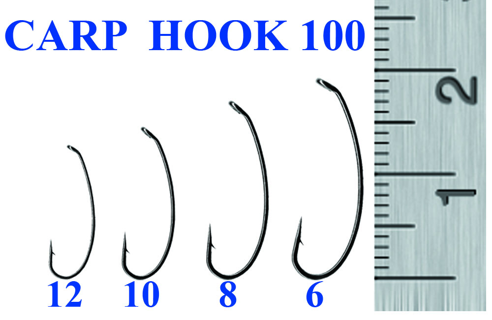 Крючок CARP 100-6 (10 шт)