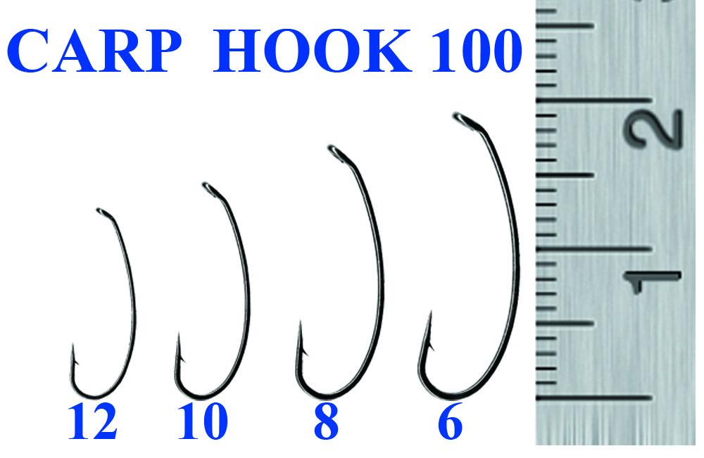 Крючок CARP 100-10 (10 шт)