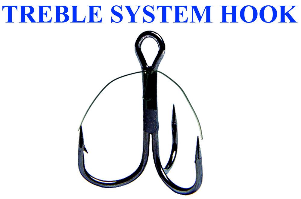 Крючок TREBLE SYSTEM 4 (10 шт)