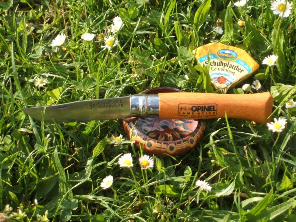 Нож Opinel №10 VRN Carbon Tradition (углеродистая сталь)