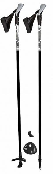 Палки для скандинавской ходьбы Atemi ATP-02, стекловолокно, 125 см