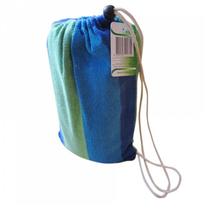 Гамак тканевый (синий/зеленый)