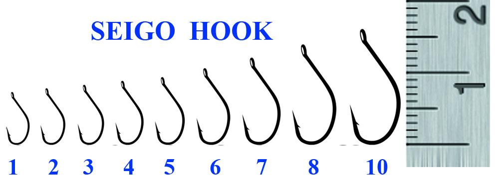 Крючок SEIGO HOOK 8 (10 шт)