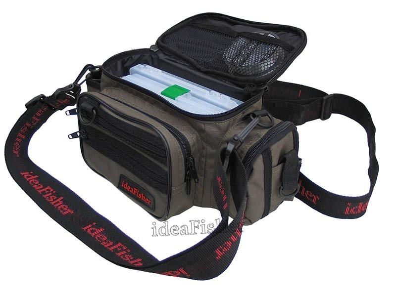 Шейно-поясная сумка + держатель удилища STAKAN 100 лайтовик Черный