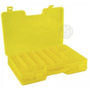 Коробка КД-1 двухсторонняя с ручкой (290 х 210 х 60), цвет желтый