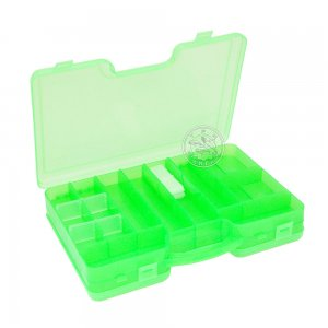 Коробка КД-1 двухсторонняя с ручкой (290 х 210 х 60), цвет зеленый