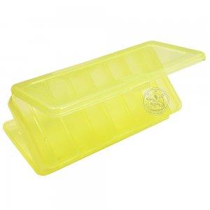 Коробка ВБ-1 двухсторонняя (7+7), (190 х 85 х 35 мм), цвет желтый