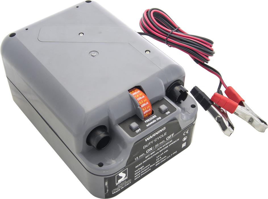 Электрический лодочный насос Bravo BST 800