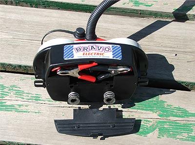 Электрический лодочный насос Bravo 12