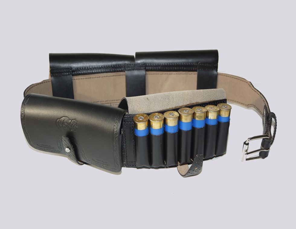 Ремень охотничий с подсумками на 28 патронов К-20, РО-2 К20