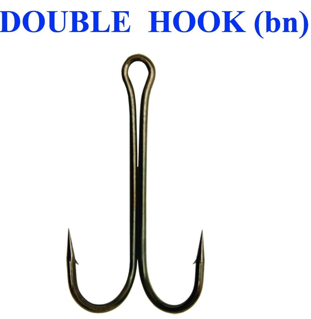Крючок DOUBLE HOOK 1/0 (3 шт.)