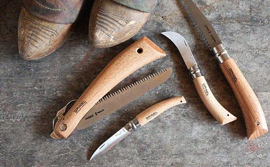 Нож грибной Opinel №8 VRI (нержавеющая сталь)