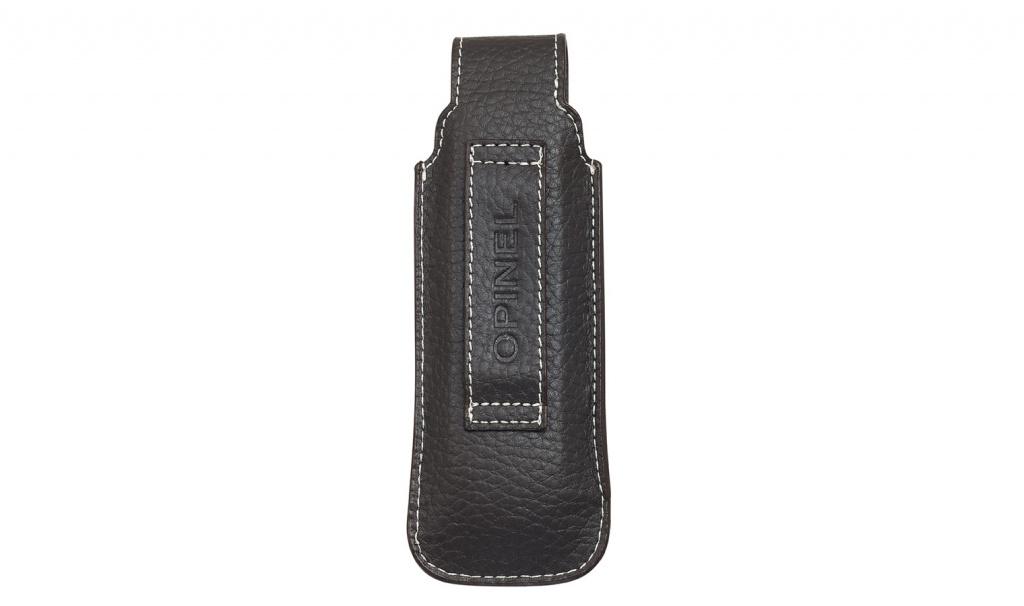 Чехол Opinel Chic black leather