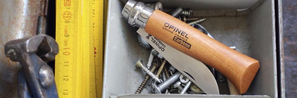 Нож Opinel №9 VRN Carbon Tradition (углеродистая сталь)