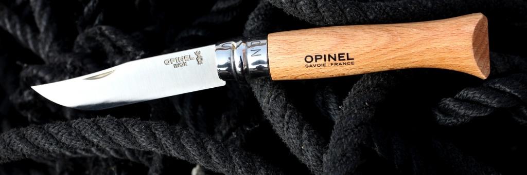 Нож Opinel №9 VRI Tradition Inox (нержавеющая сталь)