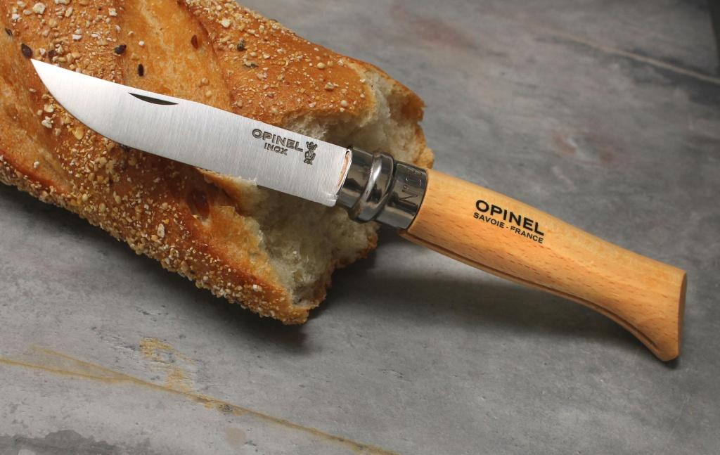 Нож Opinel №8 VRI Tradition Inox (нержавеющая сталь) с чехлом