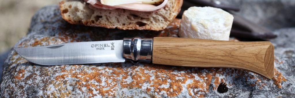 Нож Opinel №8 VRI Classic Woods Traditions Oak wood (нержавеющая сталь)