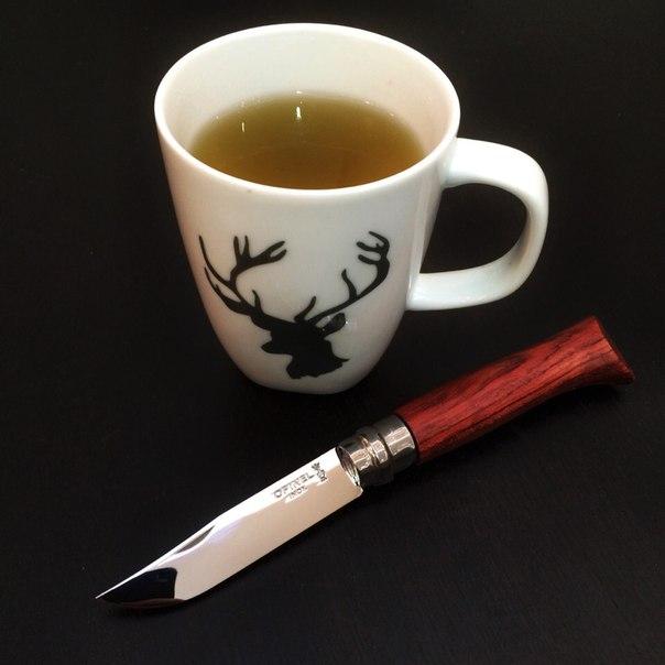 Нож Opinel №8 VRI Luxury Tradition Bubinga в подарочной упаковке (нержавеющая сталь)
