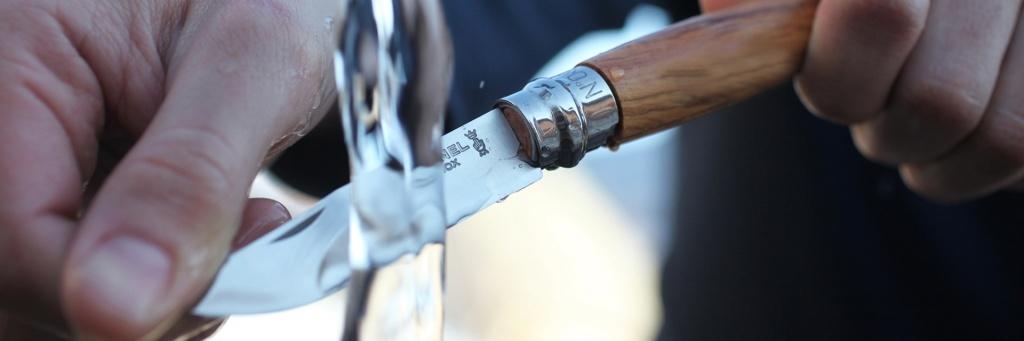 Нож Opinel №8 VRI Classic Woods Traditions Olivewood (нержавеющая сталь)