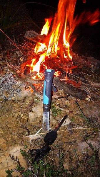 Нож туристический Opinel №8 VRI OUTDOOR Blue (нержавеющая сталь)