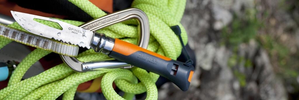 Нож туристический Opinel №8 VRI OUTDOOR Orange (нержавеющая сталь)