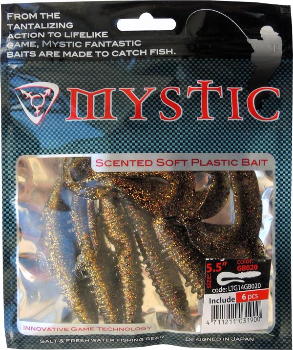 Силиконовая приманка Mystic Long Tail Grub, 14 см (6 шт)