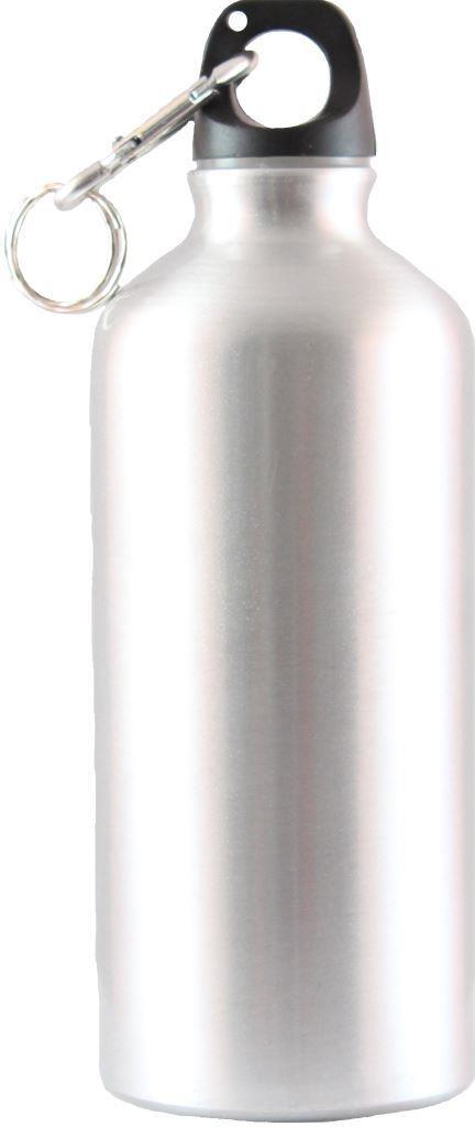 Бутылка СЛЕДОПЫТ PF-BD-A600 с карабином, 600 мл