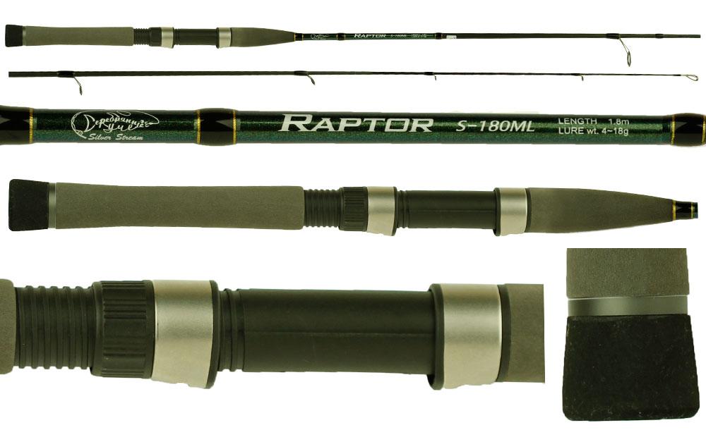 Спиннинг RAPTOR RS длина 2.0 м, тест 2-24 г