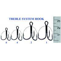 Крючок TREBLE SYSTEM 6 (10 шт)