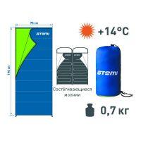 Спальный мешок Atemi T2 (+14°С)