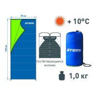 Спальный мешок Atemi T3 (+10°С)