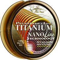 Леска TITANIUM NANO LINE 30 м (0,10 мм) 2.1 кг
