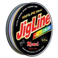 Плетеная леска JIGLINE MULTICOLOR 150 м (0.12 мм) 9 кг