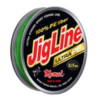 Плетеная леска JIGLINE ULTRA PE 150 м (0.06 мм) 4.8 кг