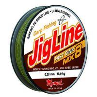Плетеная леска JIGLINE FAST SINK MX8 100 м (0.20 мм) 14 кг