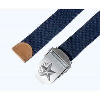 """Ремень брючный """"7 звезд"""", размер 120 см, blue"""