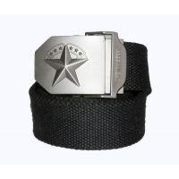 """Ремень брючный """"7 звезд"""", размер 130 см, black"""