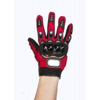 Перчатки PRO BIKER, рамер L, red (188)