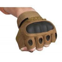 Перчатки тактические со вставкой, размер L, coyote (002)