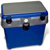Зимний рыболовный ящик A-Elita A-Box, с термометром, синий