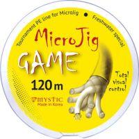 Плетеная леска PE MicroJig GAME 120 м (0.12 мм) 5.6 кг