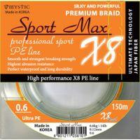 Плетеная леска Sport Max X8 150 м (0.07 мм) 2.7 кг