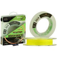 Плетеная леска INSTINCT Line 150 (0,18) жёлтый флю