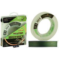 Плетеная леска INSTINCT Line 150 (0,12) темно - зеленый