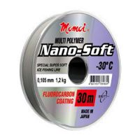 Леска MOMOI NANO-SOFT WINTER 30 м (0,105 мм) 1,2 кг