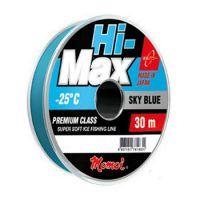 Леска ЛЕСКА MOMOI HI-MAX SKY BLUE 30 м (0,1 мм) 1,2 кг